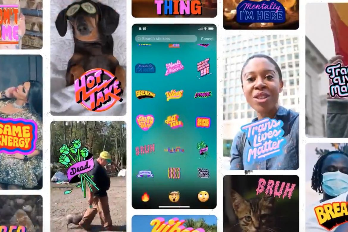 Twitter now lets you add stickers to Fleets