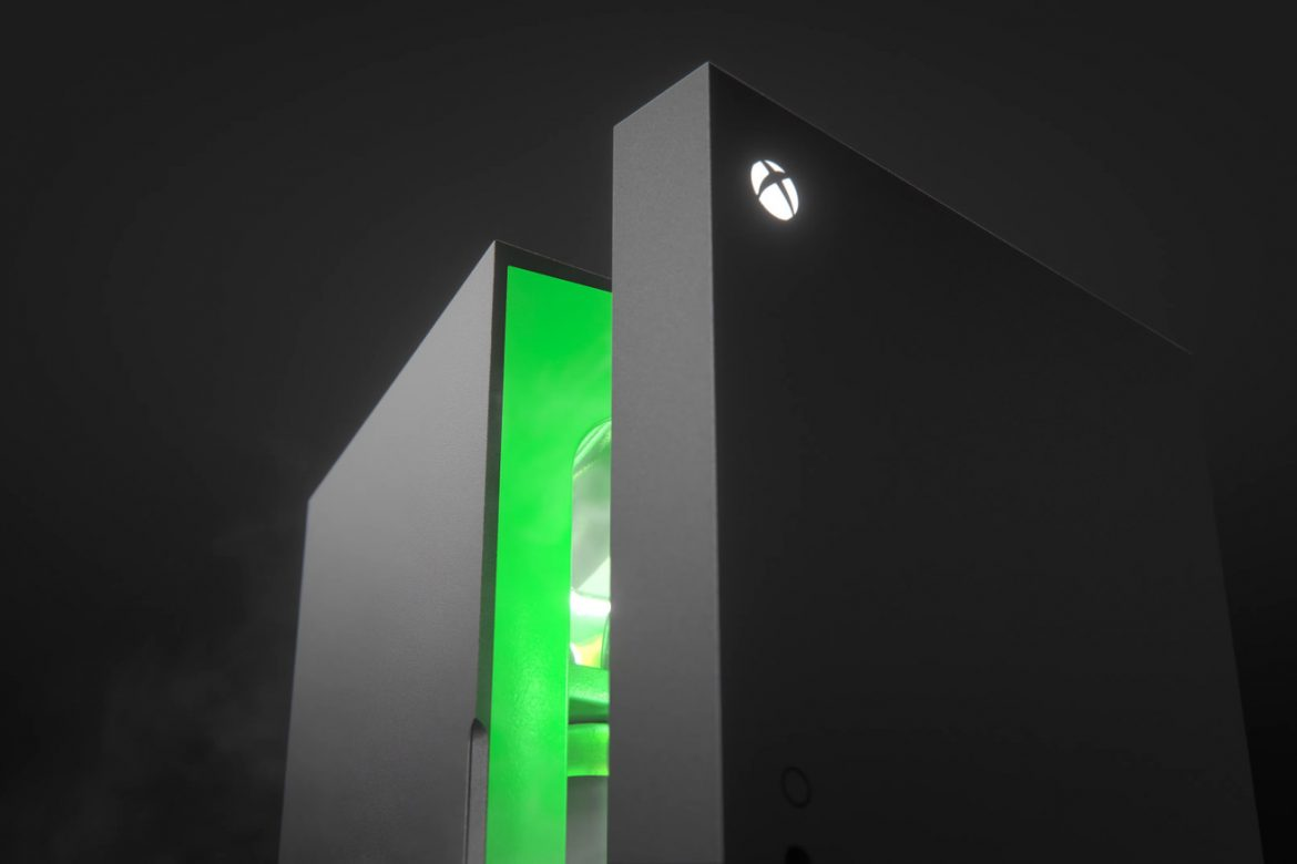 The Xbox Series X mini fridge will be available this holiday season