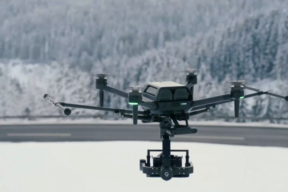 Sony announces the $9,000 professional drone it teased at CES