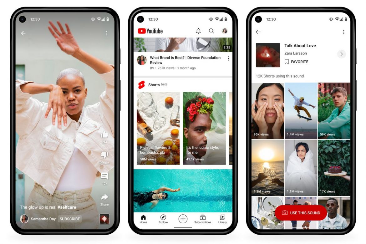 YouTube's TikTok competitor Shorts will soon let users sample audio from any YouTube video