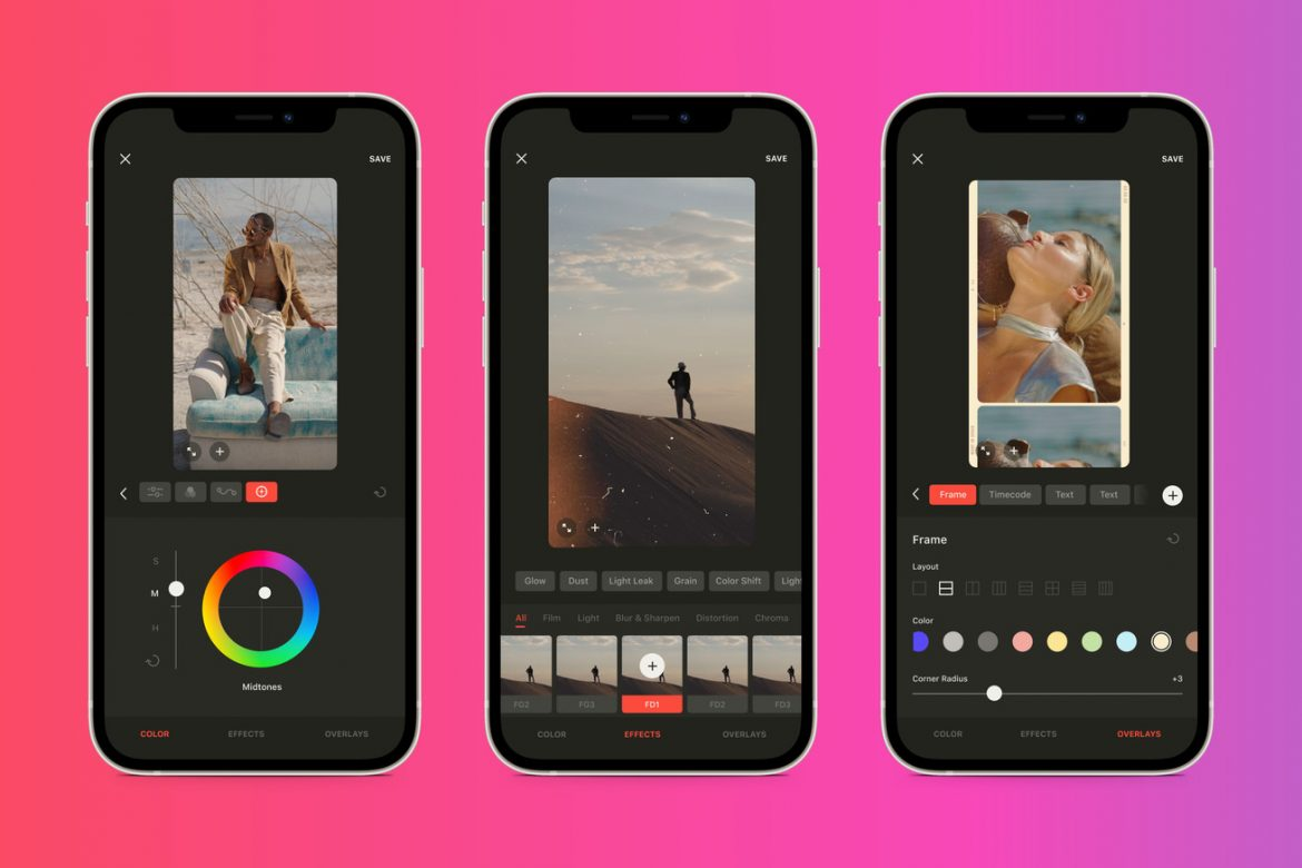 Moment's new video-coloring app Grain will let you take handcrafted presets to other apps