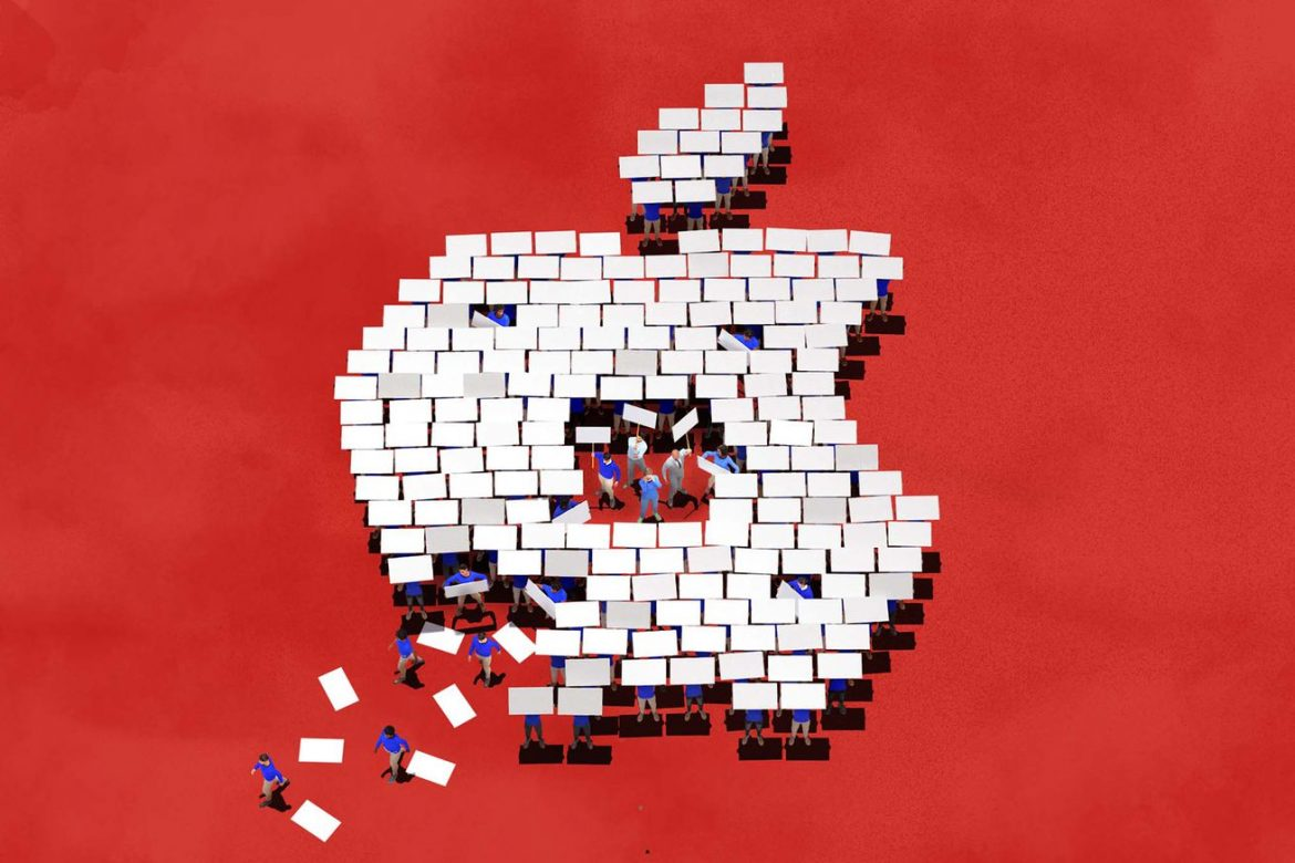 Apple's fortress of secrecy is crumbling from the inside