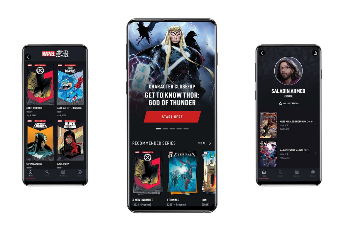 Marvel Unlimited relaunches with exclusive phone-optimized comics and a fresh new look