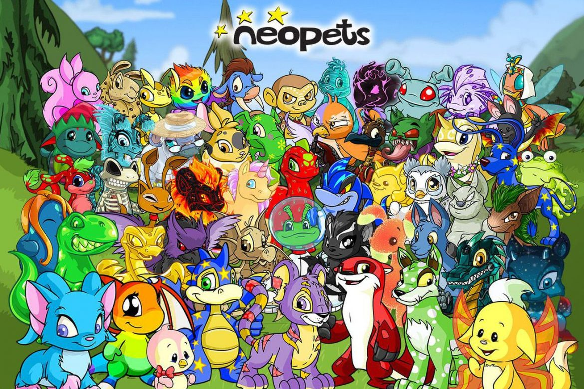 Neopets are being turned into NFTs because of course they are